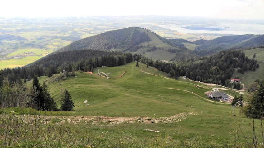 Abstieg von der Kampenwand nach Aschau im Chiemgau