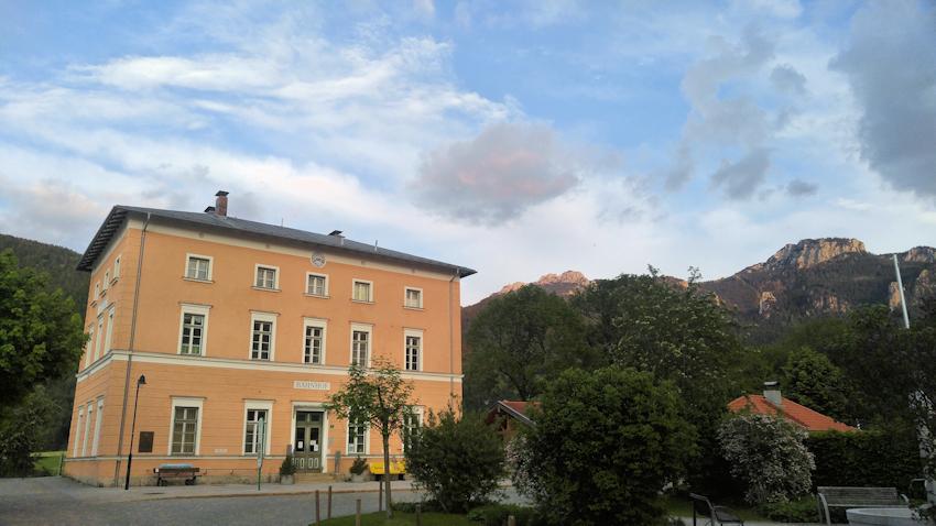 Zielpunkt Bahnhof Aschau