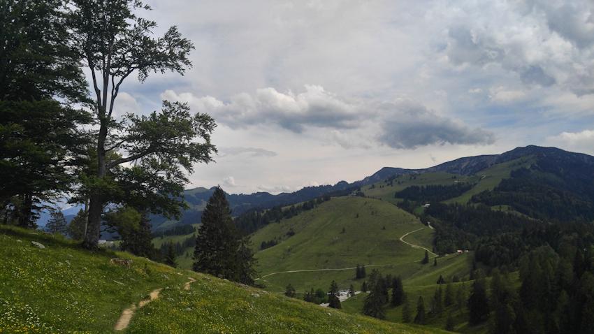 Blick zum Sudelfeld