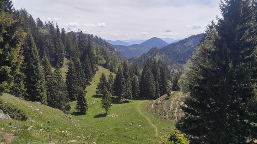 Aufstieg zu Kaserwand und Wildalpjoch vom Arzmoos