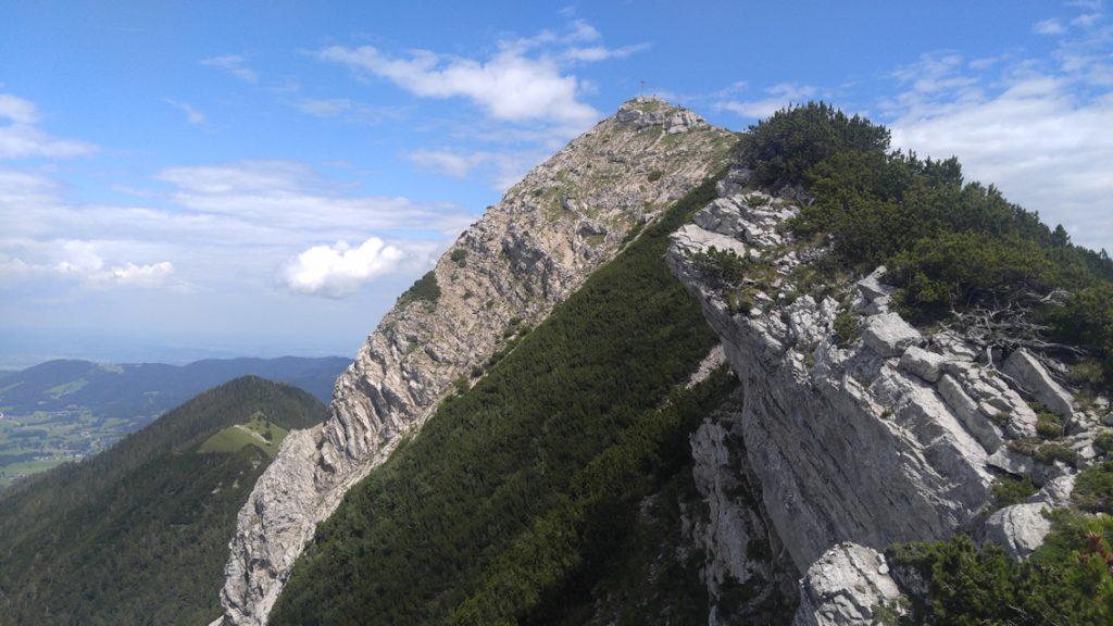 AIPLSPITZ - Überschreitung mit alpinem Flair
