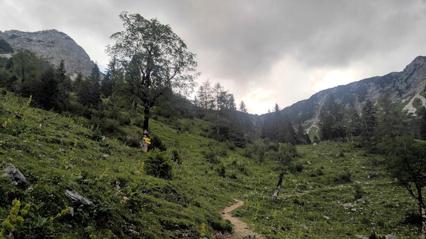 Aufstieg von Aurach zur Aiplspitz