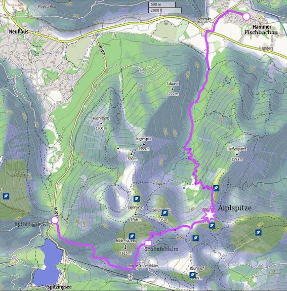 AIPLSPITZ - Überschreitung mit alpinem Flair von Aurach zum Spitzingsee