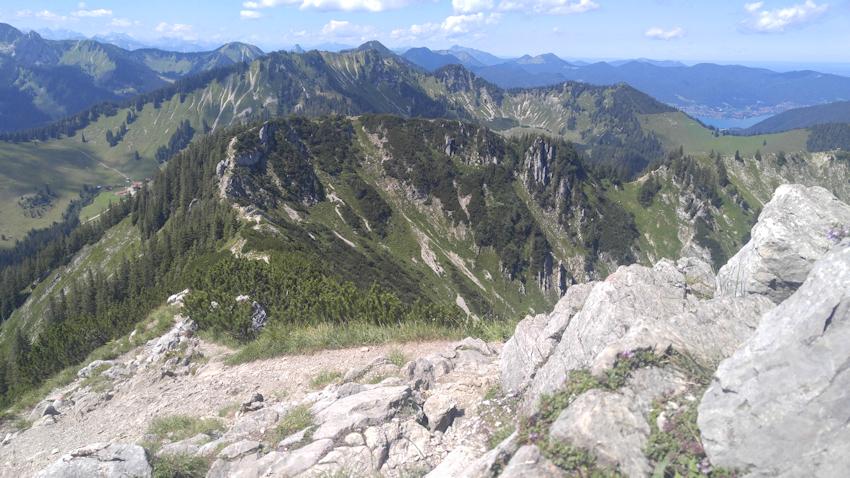 Blick zur Bodenschneid nach Westen