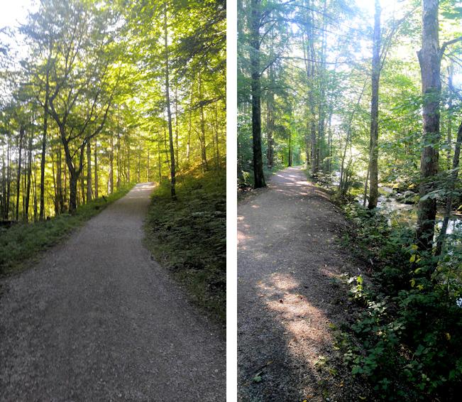 Spazierweg von Enterrottach nach Rottach-Egern