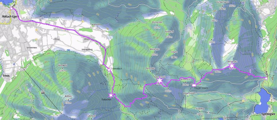 Brecherspitz - Bodenschneid: anspruchsvolle Traumtour vom Spitzingsattel nach Rottach-Egern