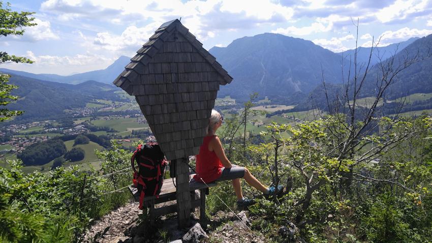 Gipfel der Eggerschneid auf dem Weg zum Hochfelln