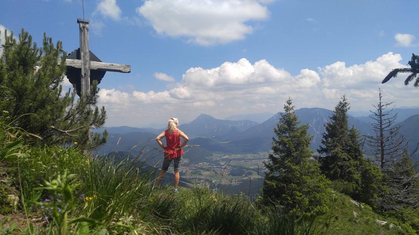 Gipfel der Strohnschneid oder Strohnkopf