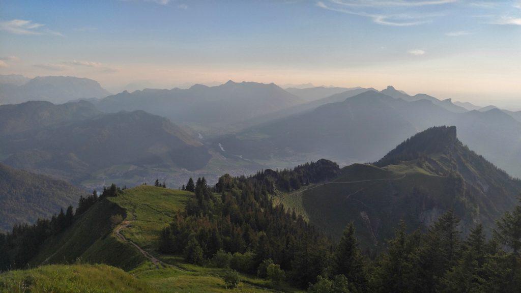 Überschreitung vom Hochfelln zum Hochgern in zwei Tagen, von Ruhpolding nach Marquartstein