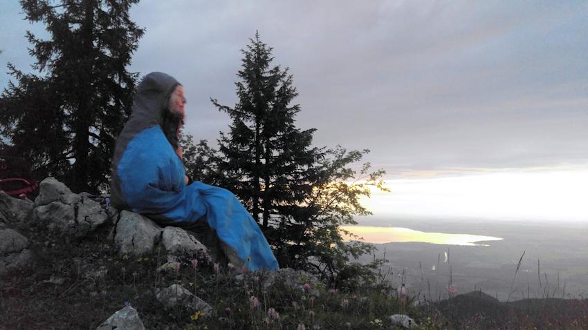 Biwak am Berg