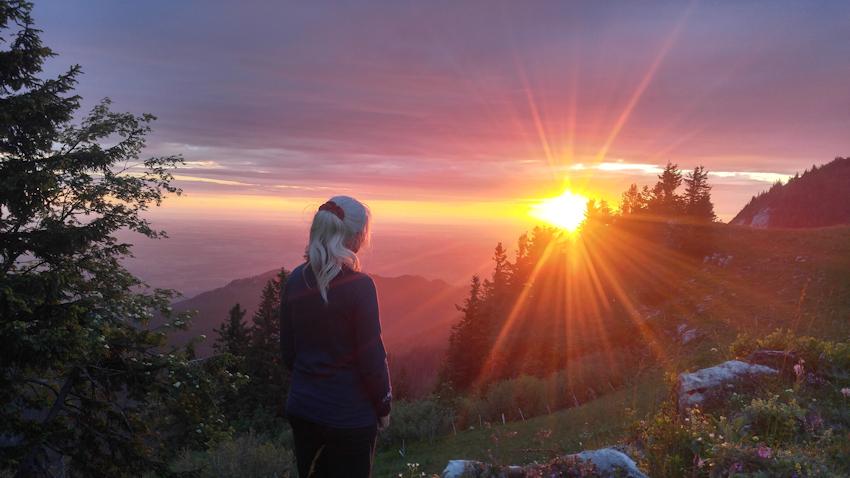 Sonnenaufgang am Hochgern