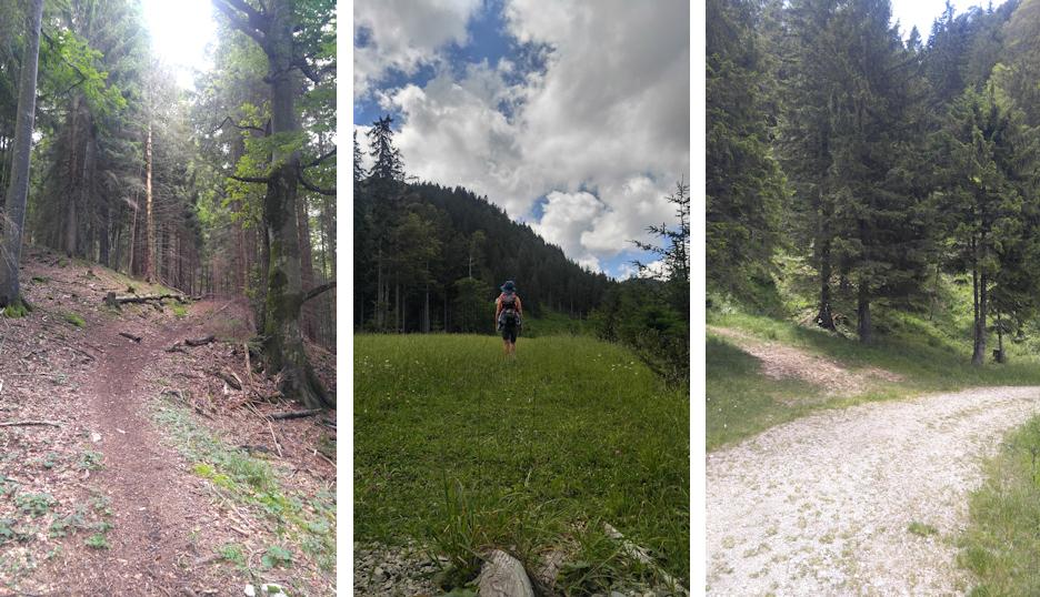 Aufstieg zum Laubenstein