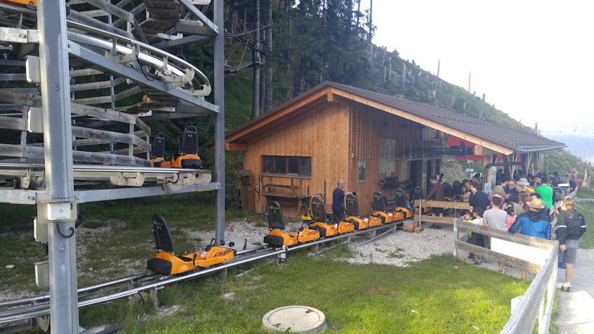 Alpine Coaster Kolbensattel