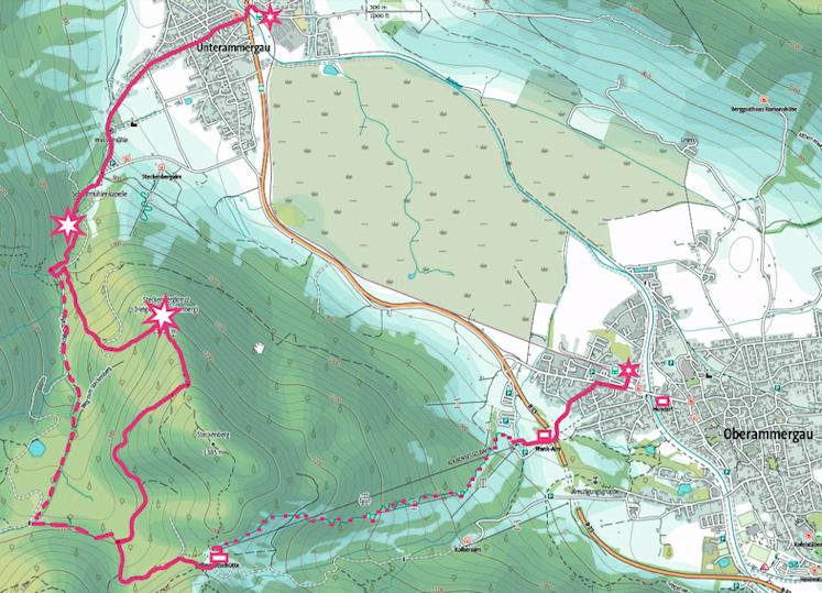 Wildromantische Schleifmühlklamm, Steckenberg Gipfel und rasante Abfahrt