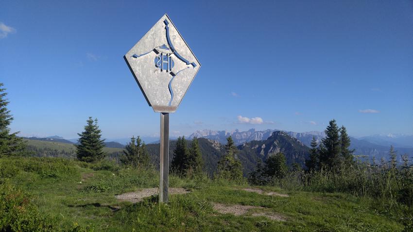 Am Gipfel des Karkopf
