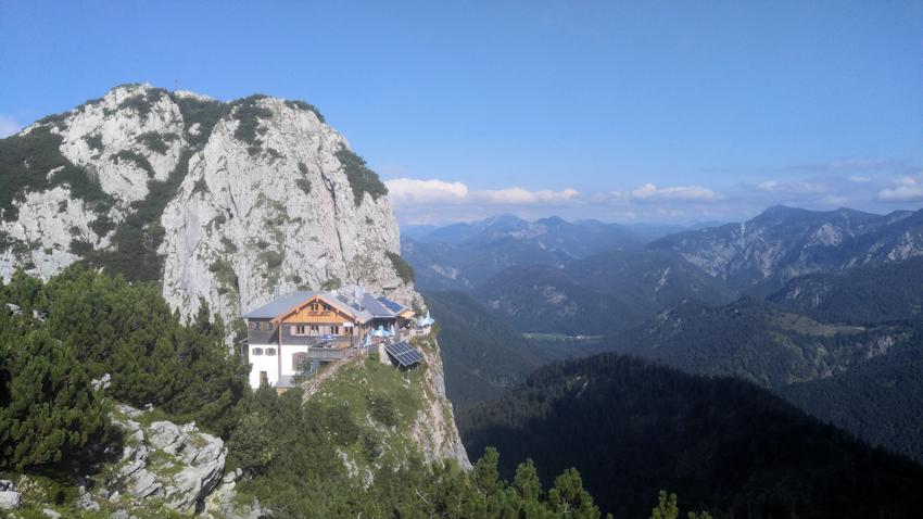 Spannende Felsgipfel: Leonhardstein und Buchstein mit Tegernseer Hütte