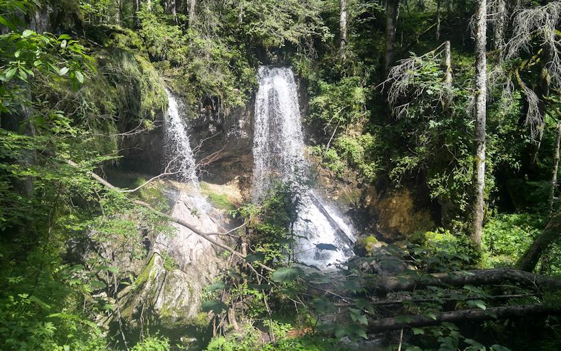 Schwarzenbach Wasserfall unterm Buchstein