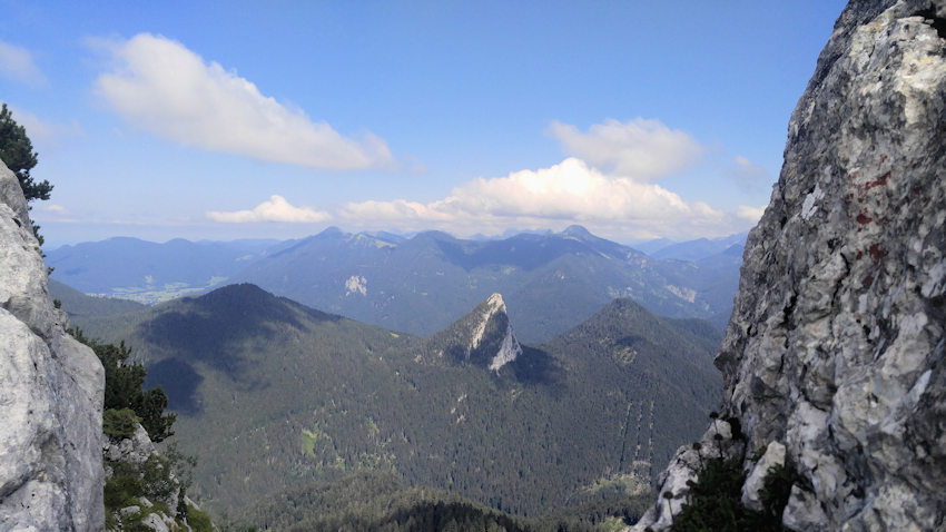 Leonhardstein vom Gipfel des Buchstein