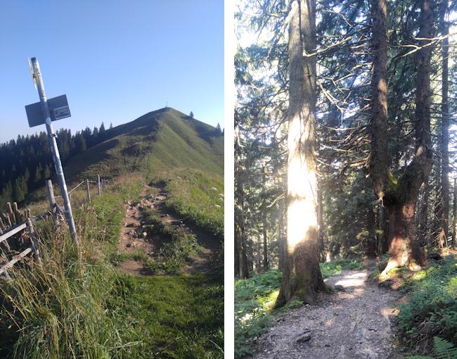 Abstieg vom Seekarkreuz zur Lenggrieser Hütte
