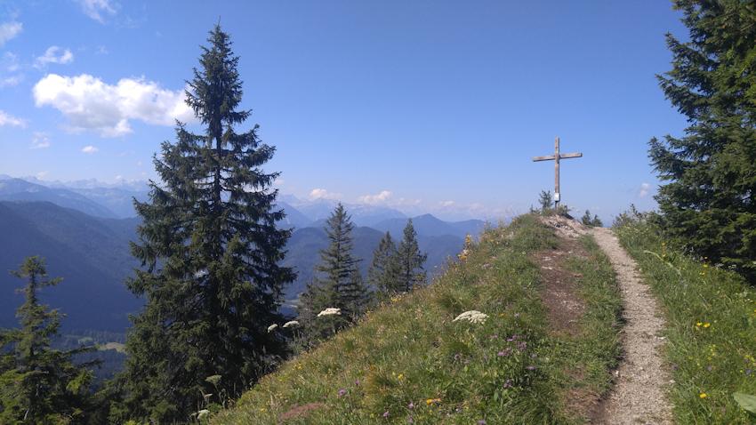 von der Lenggrieser Hütte über Grasleitenkopf und Grasleitenstein nach Lenggries