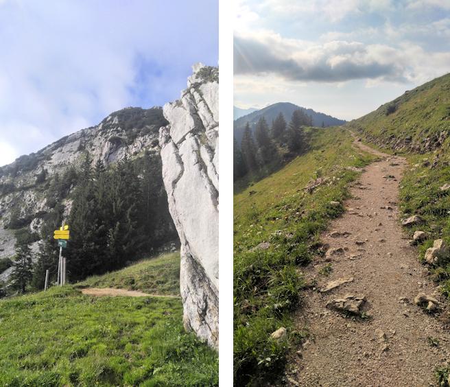 Wanderung vom Roßstein zur Hochplatte