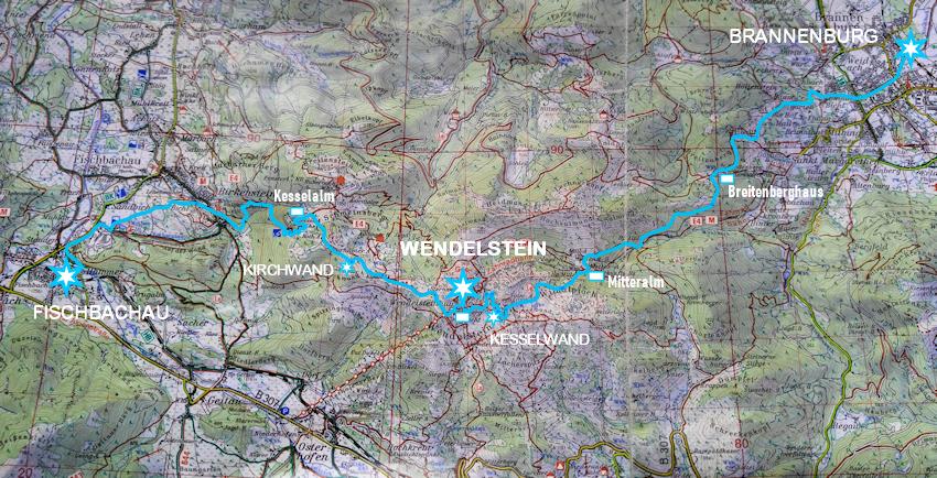 Wendelstein: abenteuerlicher Abstieg  nach Birkenstein