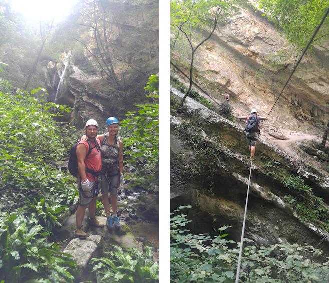 Klettersteig durch die Wildromantische Schlucht des Sallagoni